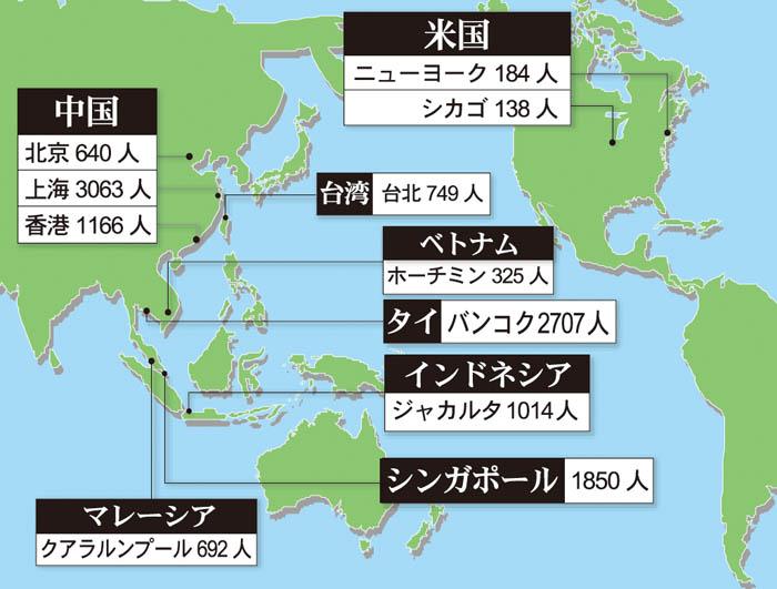 14年ぶり1000人超 ジャカルタ日本人学校の在校生数 上海、バンコク、シンガポール、香港に続く アジア地域で増加顕著