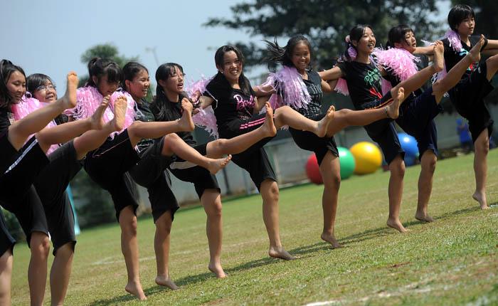 思い出、また一つ ともに汗かいた体育祭 ジャカルタ日本人学校