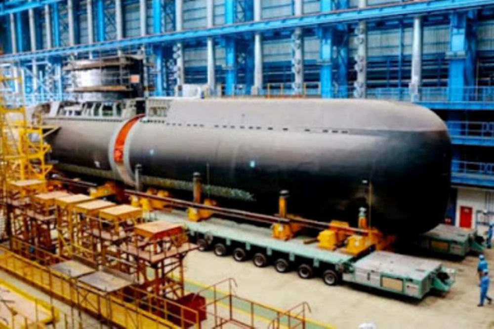 写真 製造 韓国 潜水艦