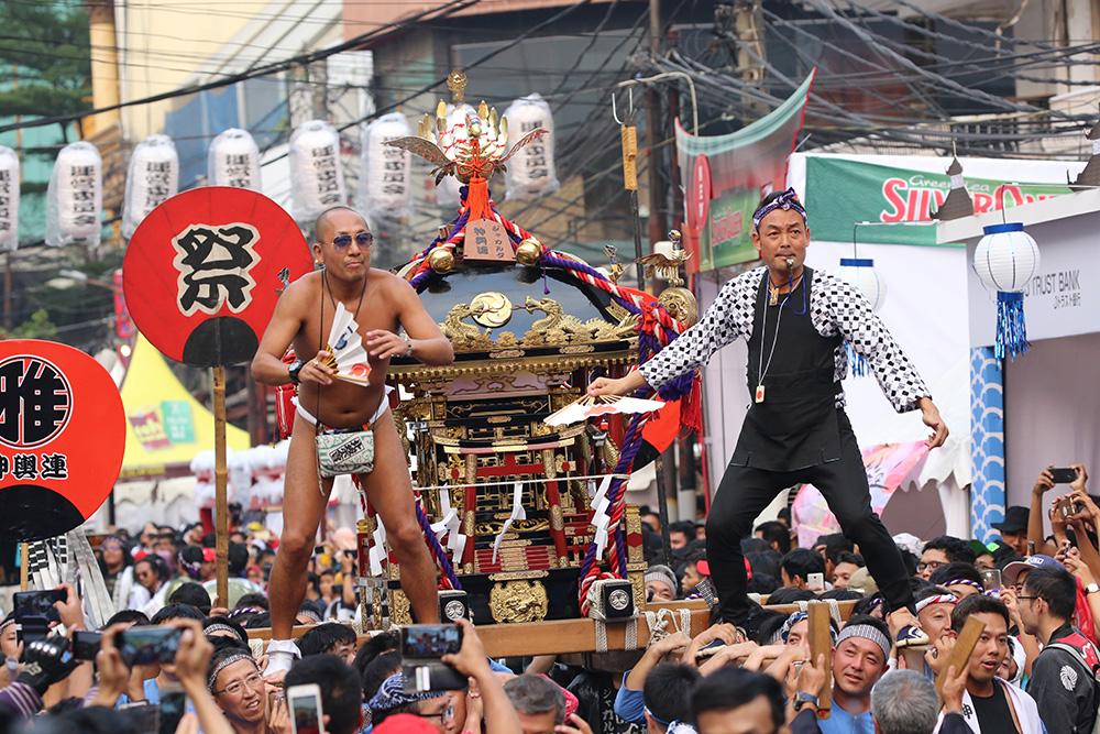 10年の集大成 「日本の夏」大盛況 ブロックM縁日祭 | じゃかるた新聞